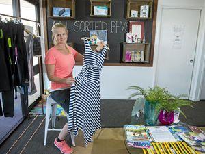 Breast feeding dresses prove popular in Gladstone