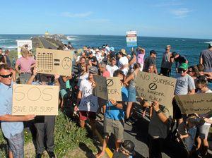 Surfers stunned by missing risk assessment on shark barrier