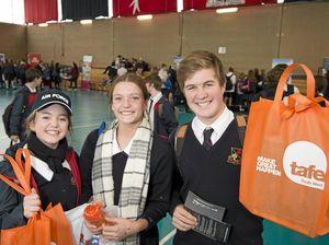 Students explore job options at Future Options Day