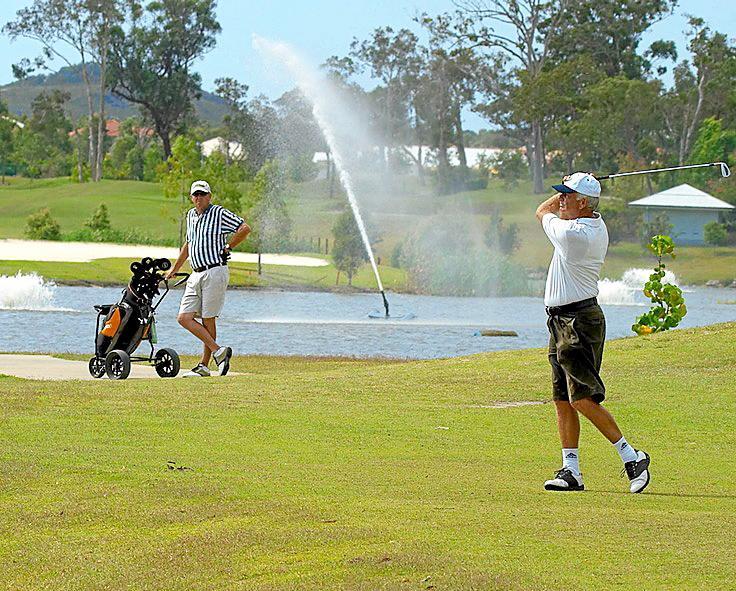 Peregian Springs Golf Club. Photo Contributed