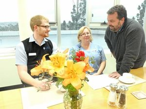 Patients enjoy cosy care at St Vincent's rehab ward