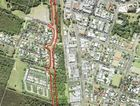 The route of Byron Bay's new CBD bypass.