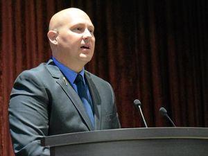 Treasurer in Bundy for budget talk