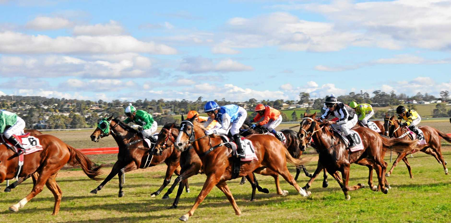 WINTER CARNIVAL: The first race of the 2015 Killarney Cup
