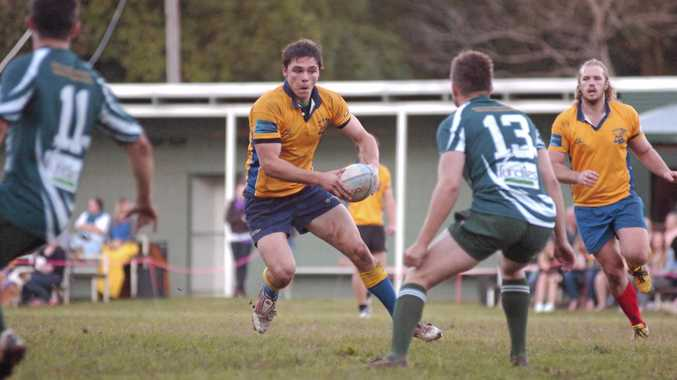 Rhys McNaughton during his time playing for Southern Cross University in Far North Coast Rugby Union. He went on to play two seasons with Wollongbar-Alstonville before he died last year.