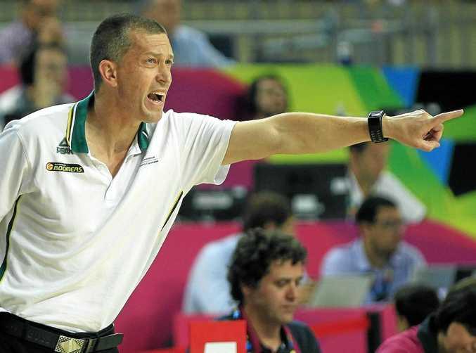 HOT SEAT: Australian Boomers head coach Andrej Lemanis.