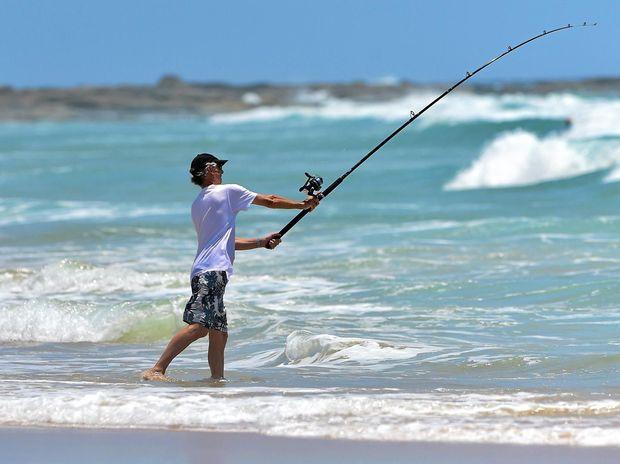 Get hooked on fishing. Photo: Che Chapman / Sunshine Coast Daily