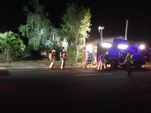 WATCH: Crime scene established around burnt building