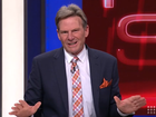 SAM Newman stunned viewers and left his fellow Footy Show panellists baffled during a bizarre appearance on the long-running show on Thursday night.