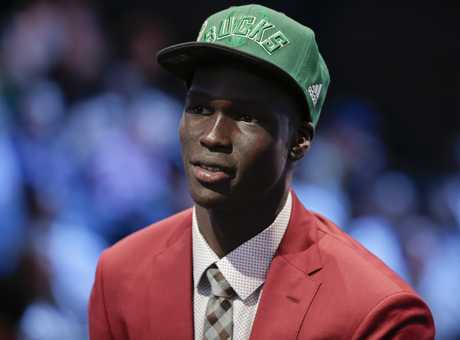 Thon Maker was the surprise of the NBA Draft, taken at pick 10 by the Bucks.