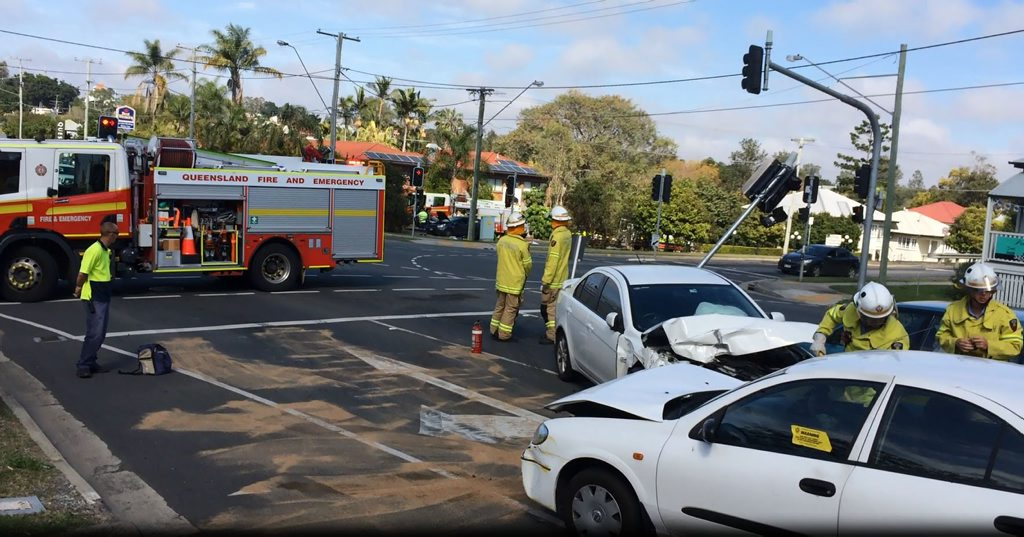 A driver allegedly crashed into numerous cars at an intersection on Warwick Rd and drove off. He has now been charged with manslaughter.