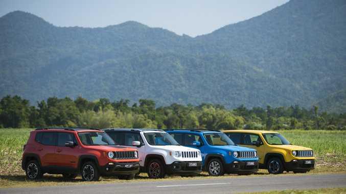 2015 Jeep Renegade range. Photo: Contributed