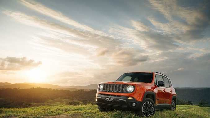 2015 Jeep Renegade Trailhawk. Photo: Contributed