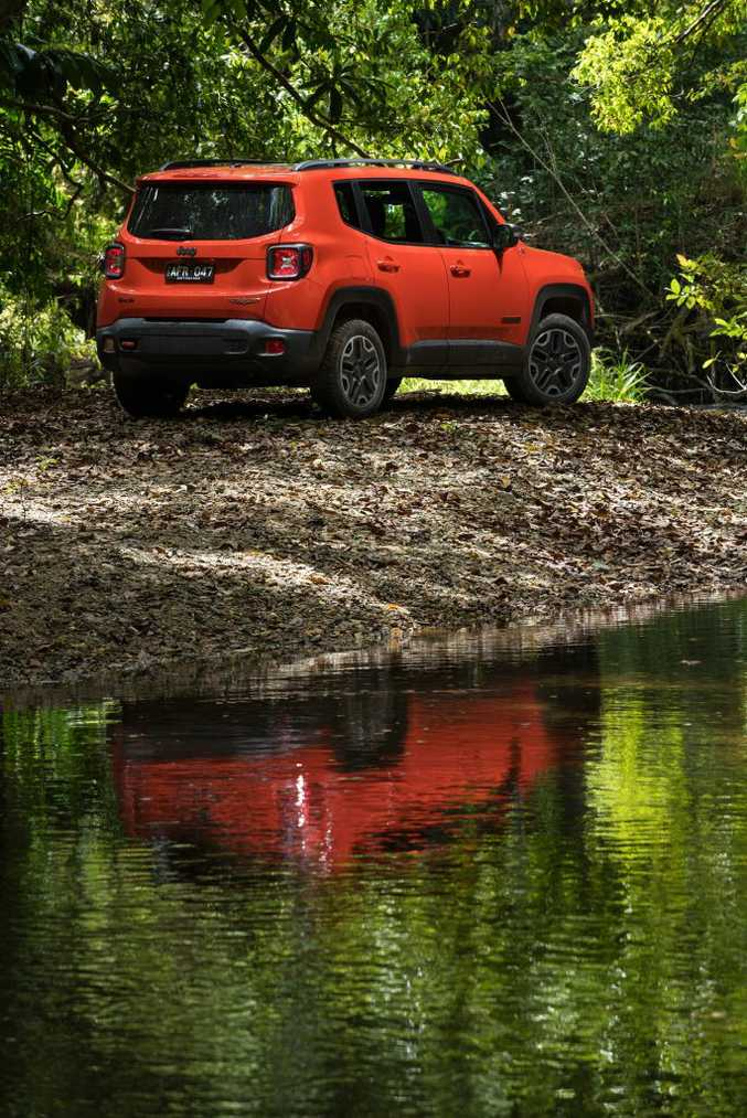 The range-topping Jeep Renegade Trailhawk is a true off-roader.