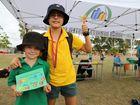 Ben Evans and Sybrand de Klerk at the Mundubbera Athletics Carnival.
