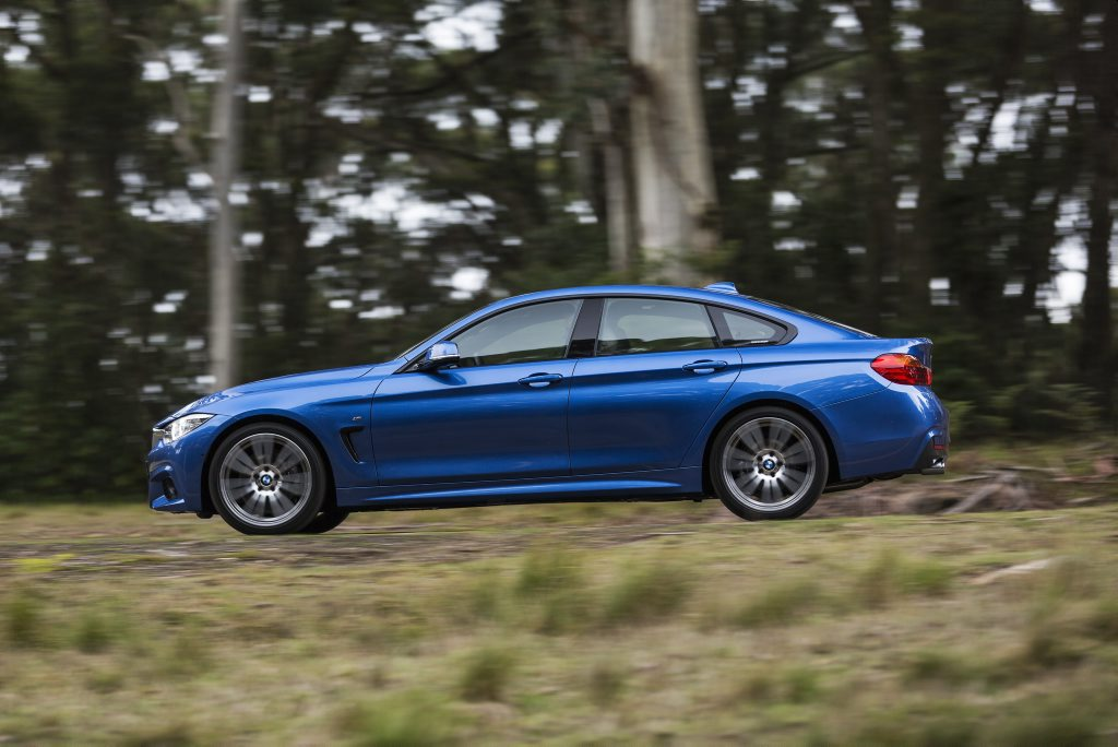 2016 BMW 430i Gran Coupe. Photo: Contributed