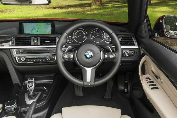 2016 BMW 440i Convertible. Photo: Contributed