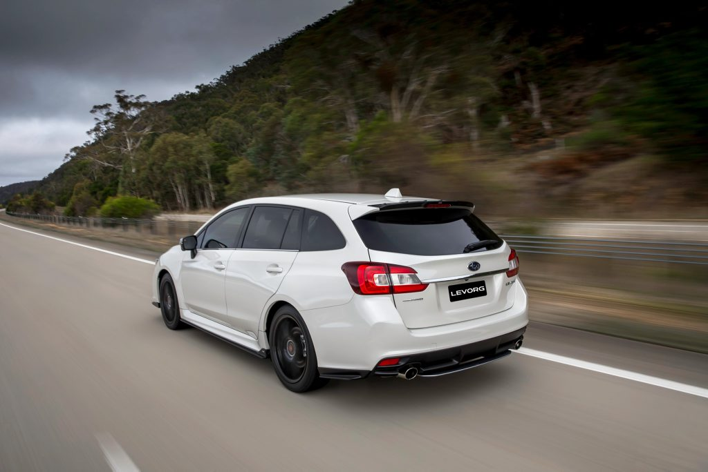 2016 Subaru Levorg GT-S Spec B. Photo: Contributed.