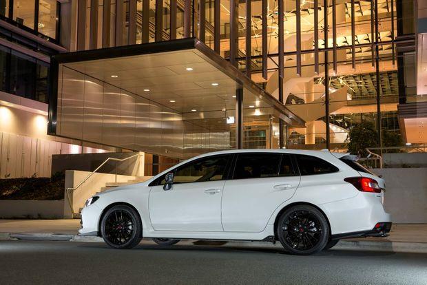 2016 Subaru Levorg GT-S Spec B. Photo: Contributed.