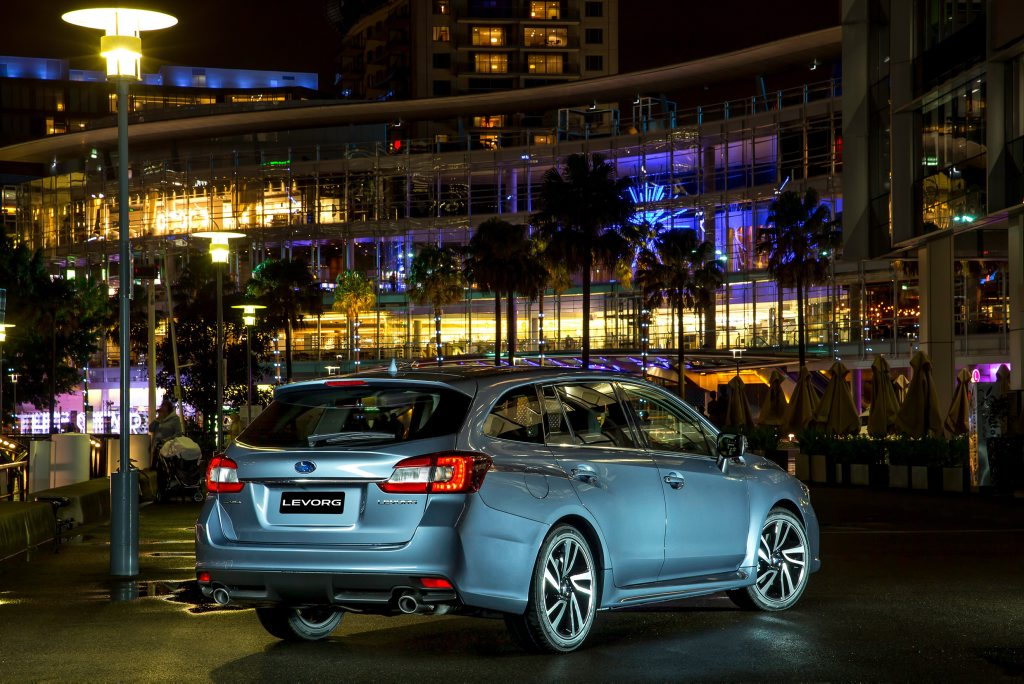 2016 Subaru Levorg GT-S. Photo: Contributed.