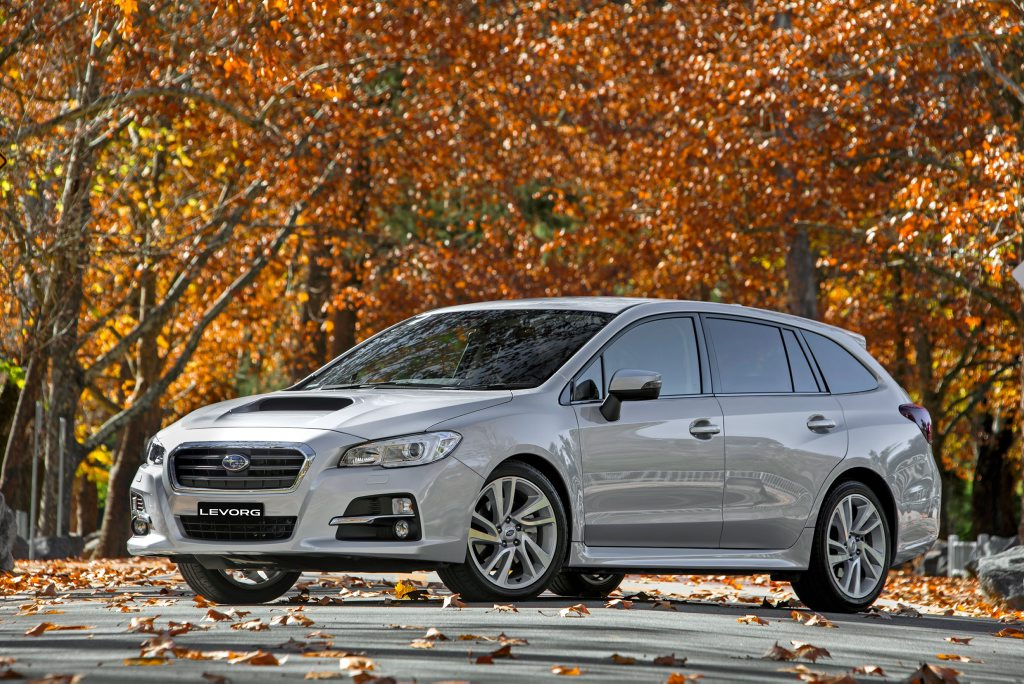 2016 Subaru Levorg GT Photo: Contributed.