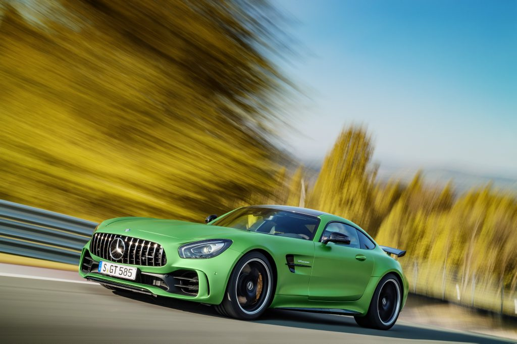 2016 AMG GT R. Photo: Contributed