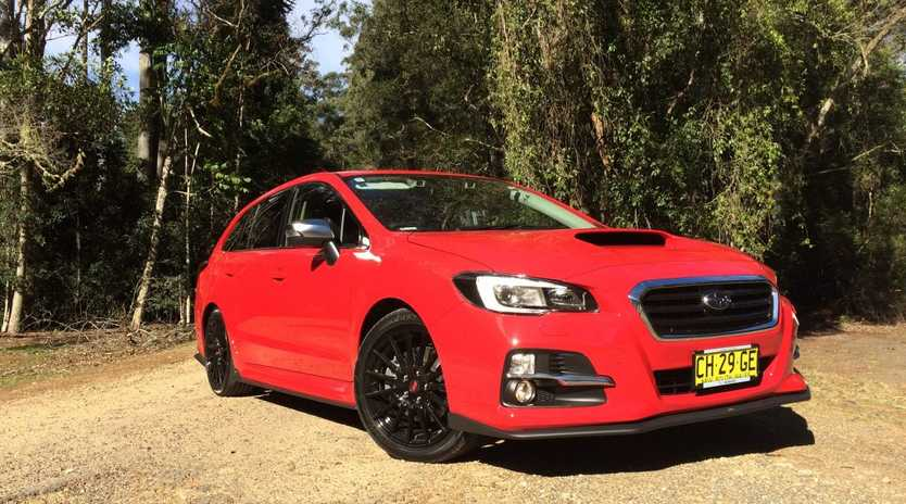STRETCHED REX: With WRX boxer engine and all-wheel drive Subaru's new Levorg brings fun to the family wagon.