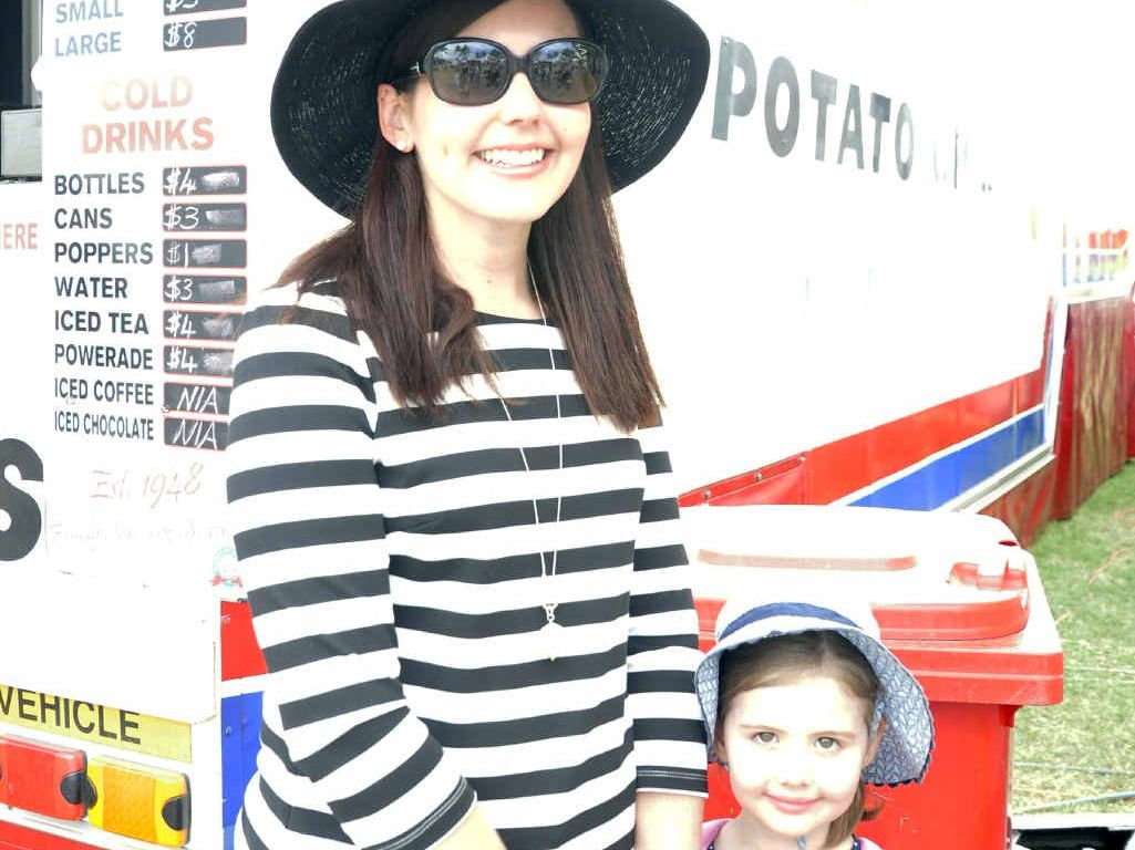 Mother Melissa Egan and her daughter Gabrielle.