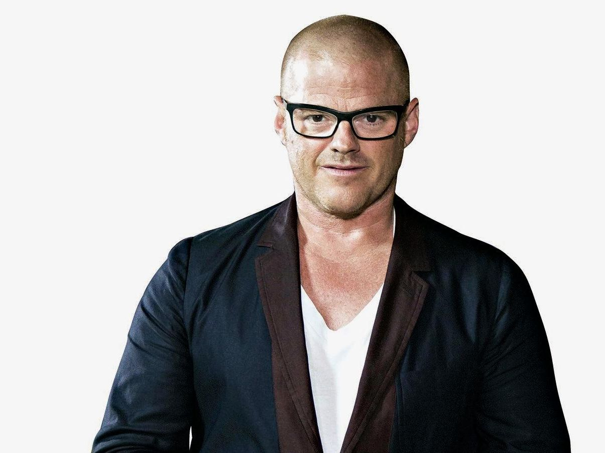 Heston Blumenthal is a guest judge on the MasterChef panel this week.