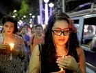 TRAGEDY: People held vigils all over the world in honour of the people killed in themass shooting attack at an LGBT club in Orlando, Florida.