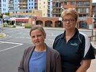 Newport Mooloolaba Apartments acting manager Hannah Sullivan and Sandcastles Mooloolaba manager Bridgette Silcock are concerned that noisy vehicles are driving away Mooloolaba holiday makers.
