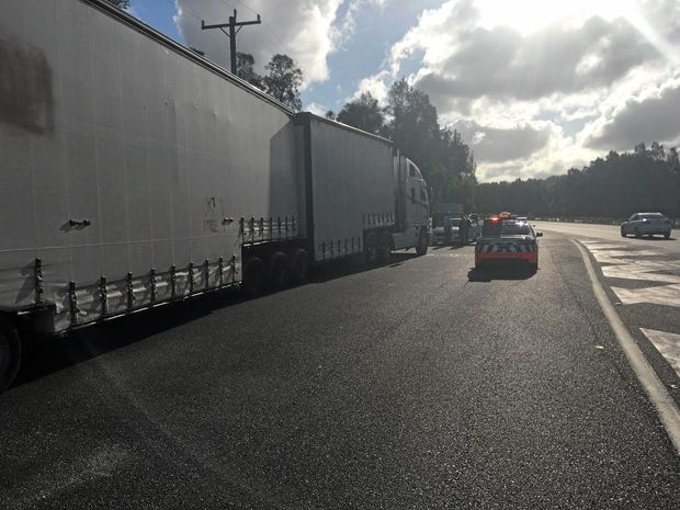 Operation Impact was a joint taskforce operation that targeted non-compliant heavy vehicles, in the Pine Creek, Eden and Bega areas.