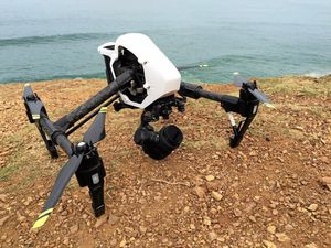 If a drone lands in your yard, who owns it?