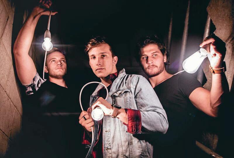 Matthew Reisinger, Michael Trapp and Clayton Mullins are Brisbane three-piece band Until Home
