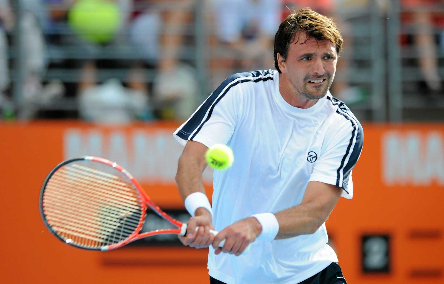 Croatian tennis legend Goran Ivanisevic.