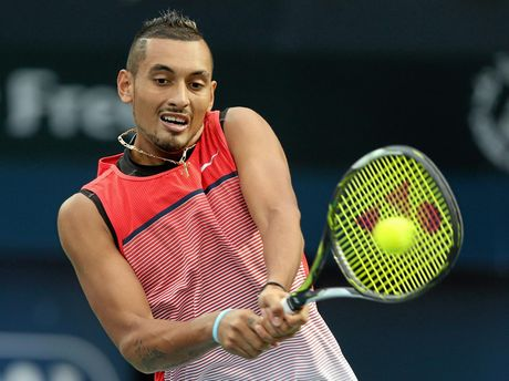Nick Kyrgios, from Australia.