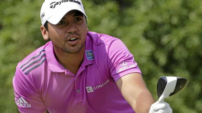 ZIKA FEARS: Jason Day, of Australia, in action at this month's US Open at Oakmont Country Club.