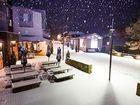 Snow is falling at the Thredbo Resort. Photo: Thredbo Resort / Facebook