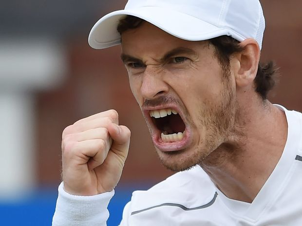 Andy Murray is coming into Wimbledon in winning form.