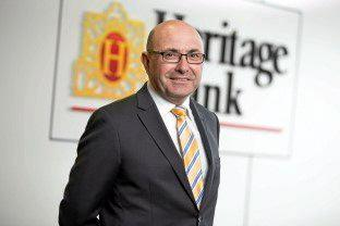 Heritage Bank CEO Peter Lock.