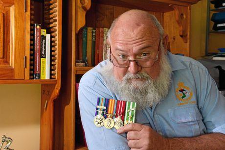 Former Vietnam Veteran Ted Robinson.