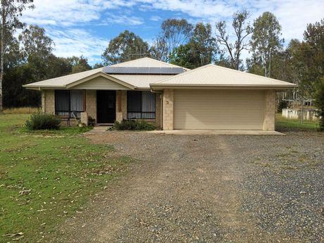 Roy Matheson's Gympie home.