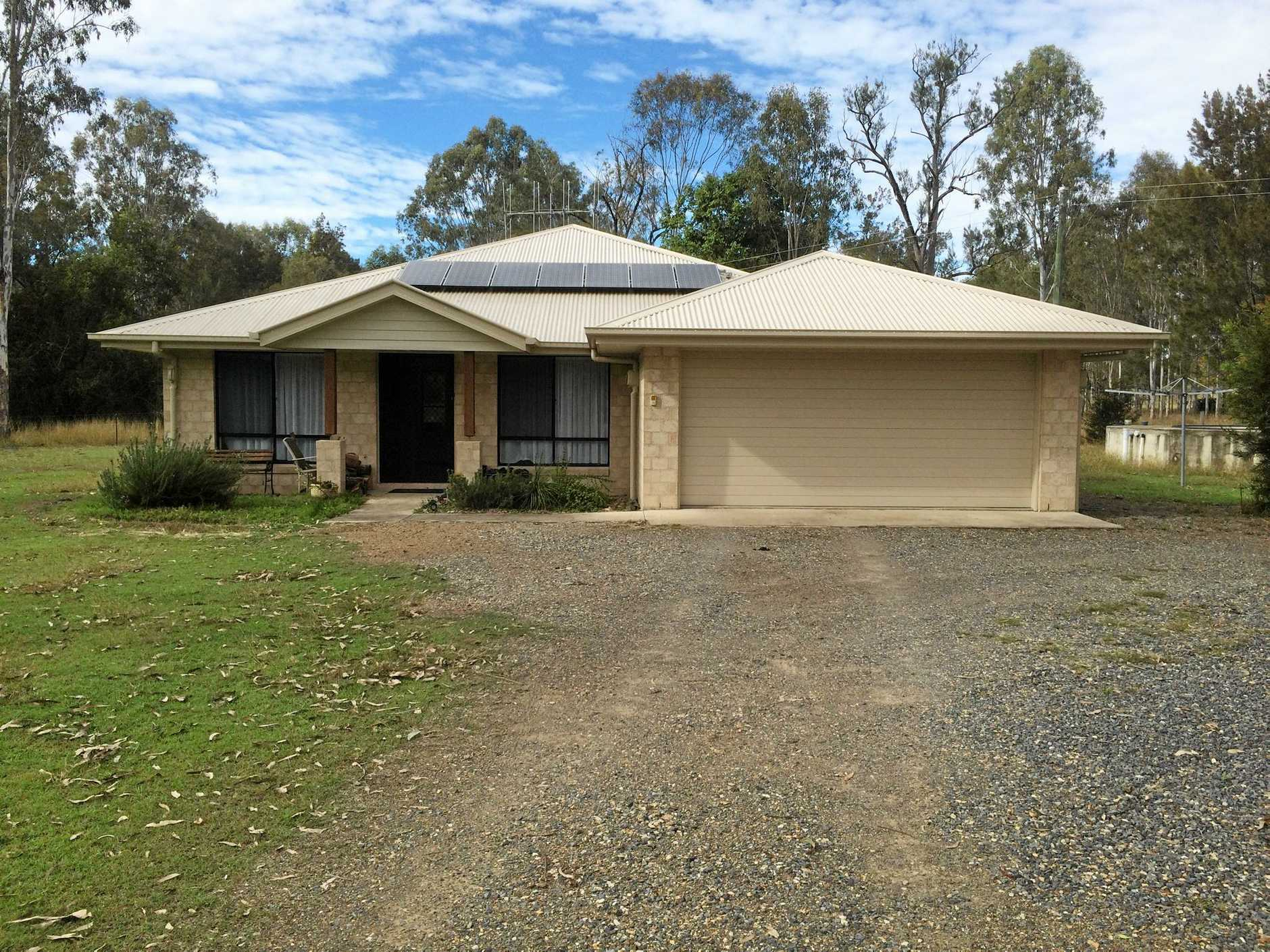 Roy Matheson's Gympie home.