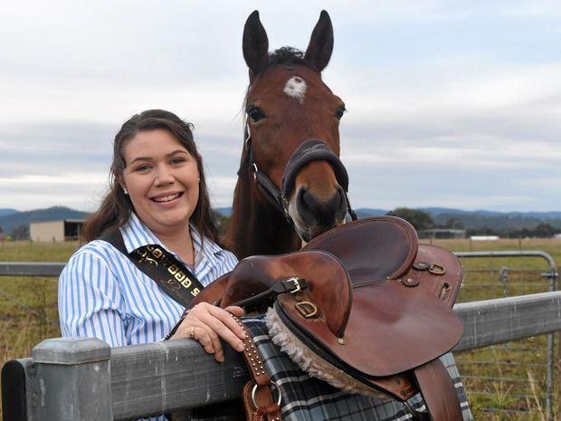 DREAM: Lowood Show Girl Katie Whitfield.