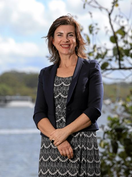 FINGAL PASSION: Greens candidate Dawn Walker loves living on the Tweed Coast.