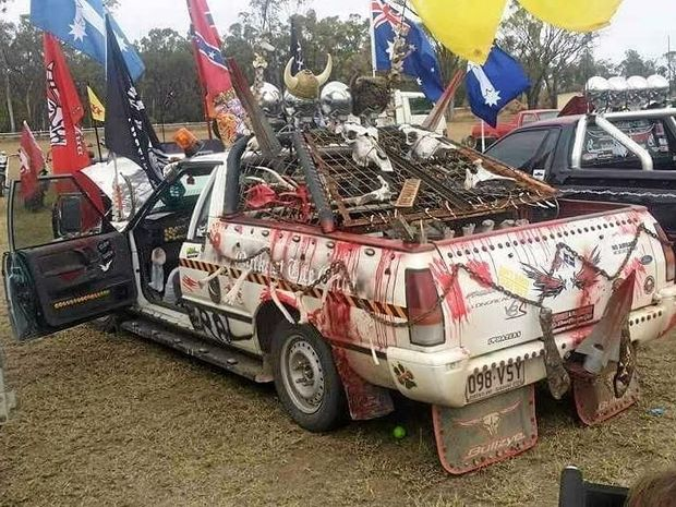 The Abbey family's Mad Max inspired ute won Best Feral Ute in the South West.
