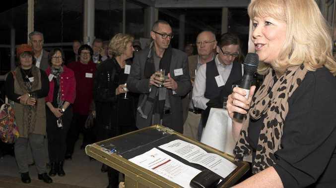 Coffs Harbour City Council Mayor, Cr Denise Knight, at the launch of Prosper Coffs Harbour Ltd. Photo: Seen Australia