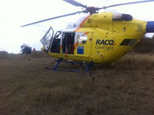 Motocross rider badly hurt on track north of Toowoomba