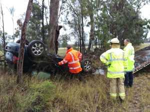 Elderly driver left shaken after Warwick crash
