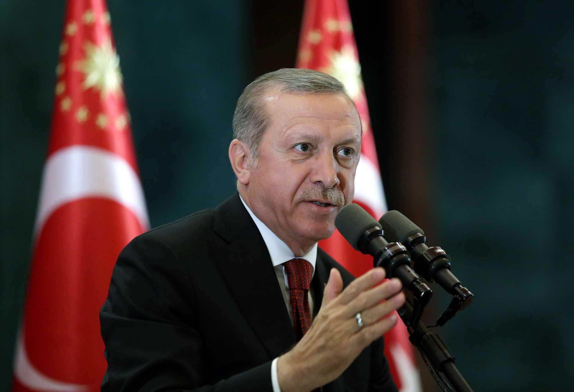 President Recep Tayyip Erdogan source AAP